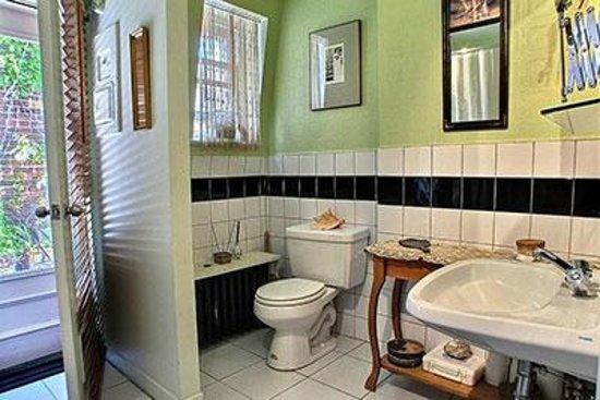 Gite Au Croissant de Lune: Salle de bain partagée par nos clients / 1 toilette en supplément