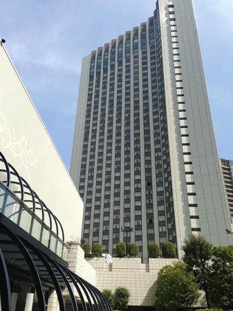 ANA InterContinental Tokyo: VIsta del hotel