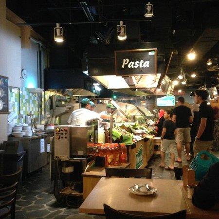 Marche : Pasta stall