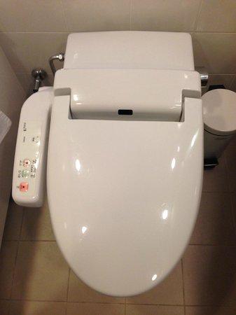 Ana Intercontinental Tokyo: Baño típico japones
