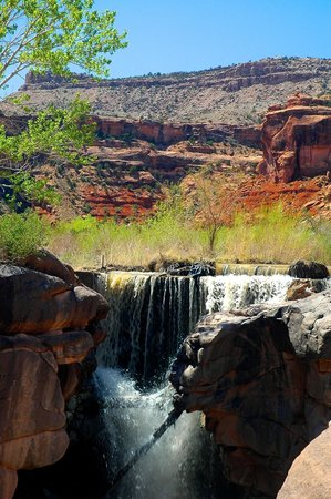 Grand Junction, CO: Dominguez Canyon waterfalls