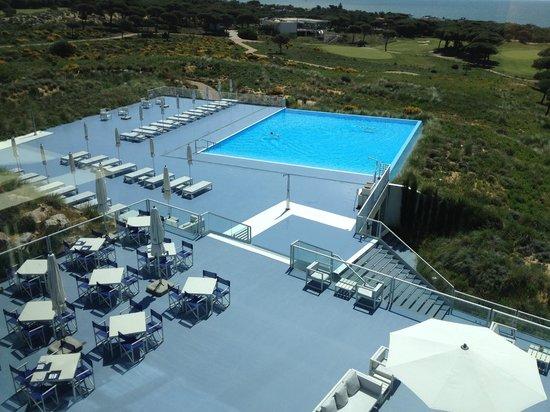 The Oitavos: pool > leider nicht genutzt, weil viel zu kalt!