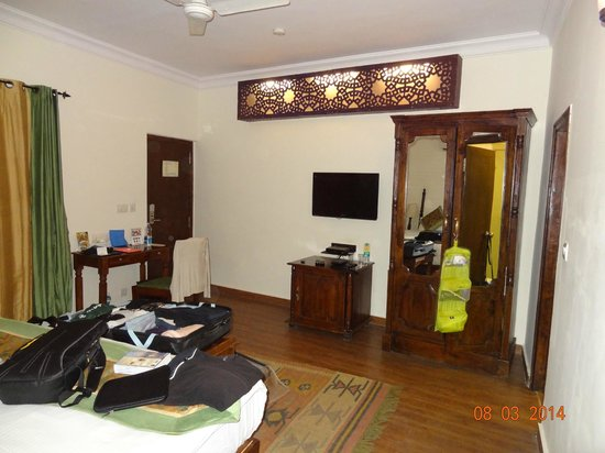 Ranbanka Palace: chambre