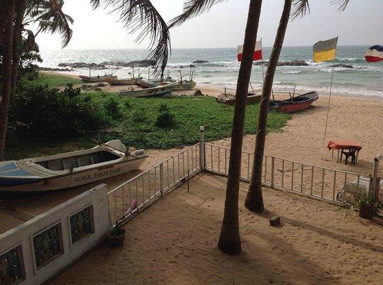 WASANA Beach Hotel & Restaurant : View from the Room