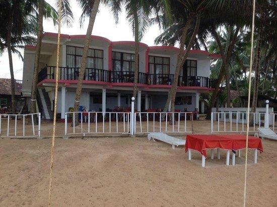 WASANA Beach Hotel & Restaurant : View from the Beach