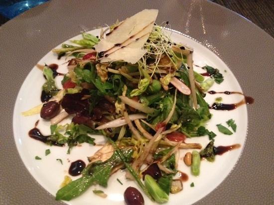 Luc Salsedo : salad starter, delicious!