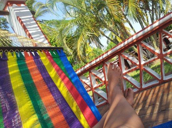 Hotel Paraiso Escondido: Hängematten am Pool