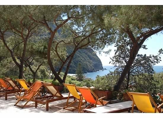 Giardini Poseidon Terme : view from top level