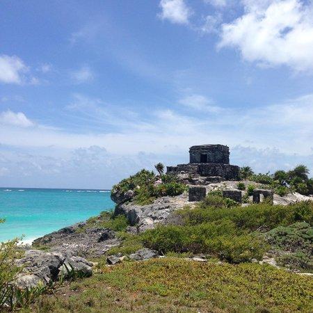 Maya-Ruinen von Tulum: Mayan Ruins, Tulum