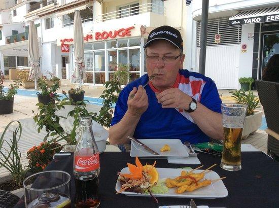 Siam Beach: Chicken satay