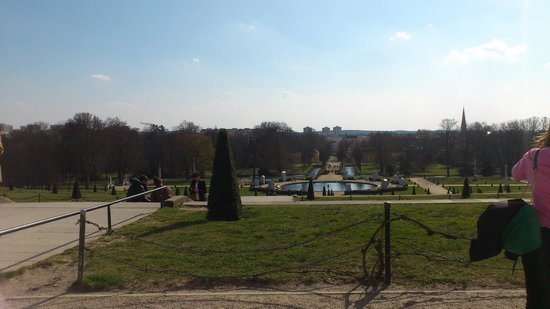 Potsdam's Gardens : View from Sanssoucci palace