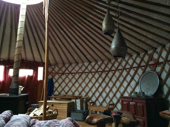 Texel Yurts: Mooi interieur