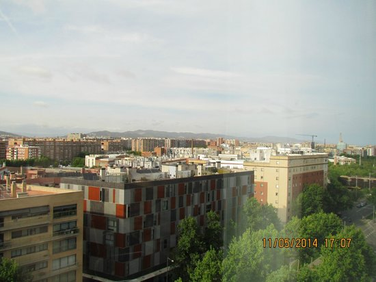 Four Points by Sheraton Barcelona Diagonal: View from 10th floor across City