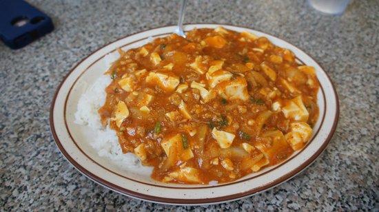 """Taiyo Ramen: """"Mabo Tofu Rice"""""""