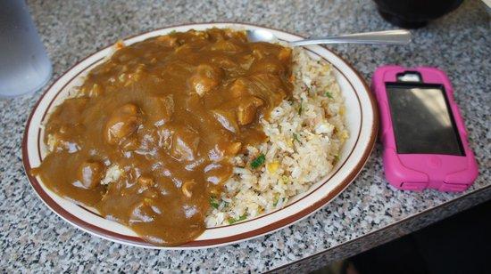 "Taiyo Ramen: ""Fried Rice w/Curry"