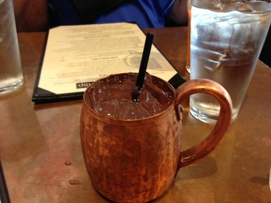 Kinderhook Tap : Moscow Mule...made with Gin