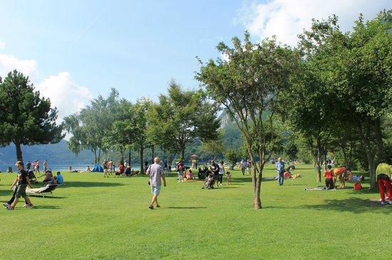 """Lago di Molveno: La """"spiaggia"""""""