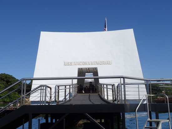 Pearl Harbor : Entrance.