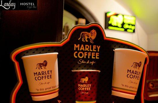 Landay Hostel: Marley Coffee
