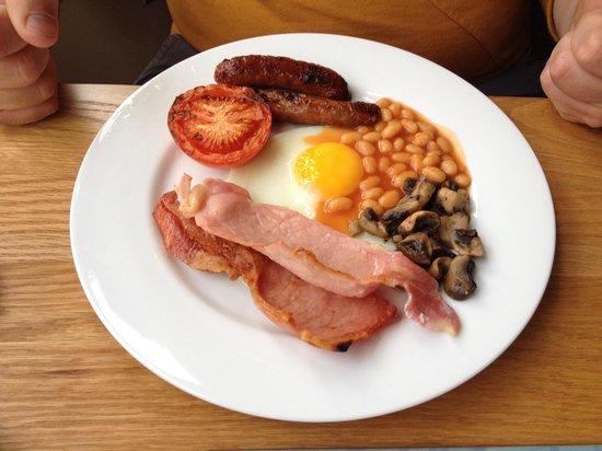 Griff House Bed & Breakfast: Een heerlijk Engels ontbijt