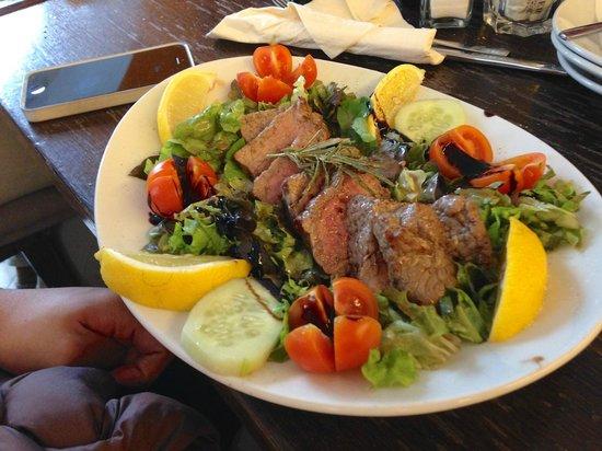 Caffe Rinaldi: beef dish