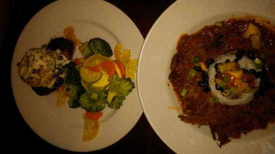 Key West Grill : Filet and Cuban Beef Stew
