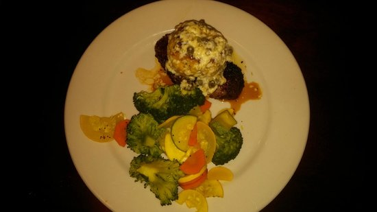 Key West Grill : Filet with Crab Meat