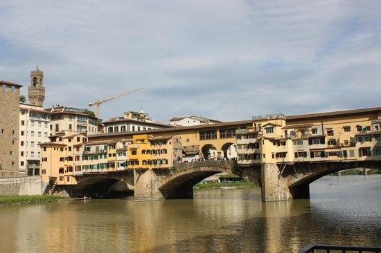 Hotel Lungarno: Ponte Vecchio