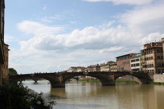 Hotel Lungarno: Arno River
