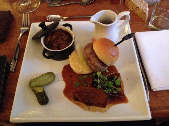 The Inn at Penallt : Een lekker trio van rund