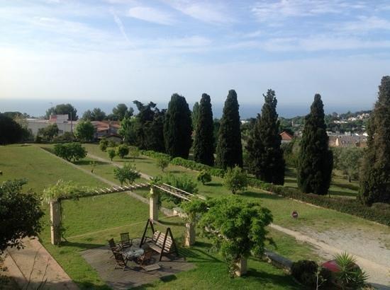 Can Casadellà: the garden