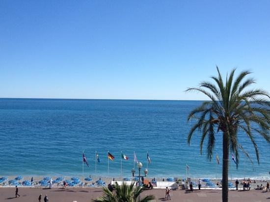 Le Meridien Nice: View from our room.