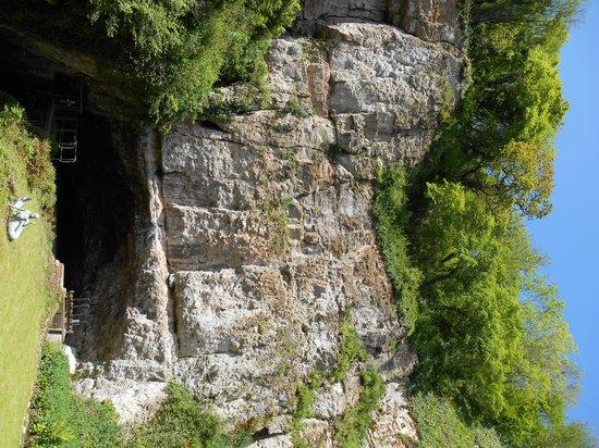 Wookey Hole Caves : Stunning scenery