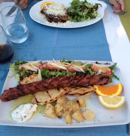 Pirouni: Traditional Greek sausage