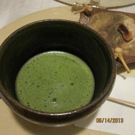 Yamazushi Japanese Cuisine: matcha tea