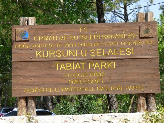Kursunlu Waterfalls : RECIBIMIENTO