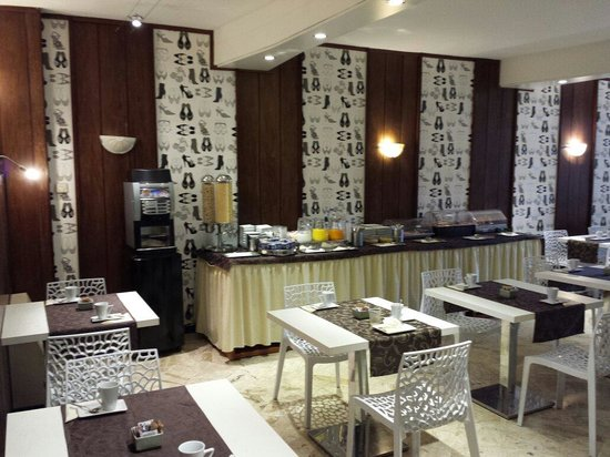 Hotel Jane : Sala colazione
