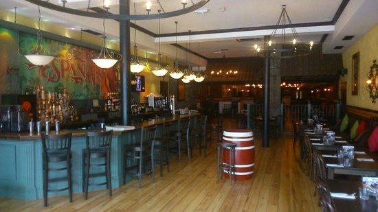 La Tasca - Aberdeen: Bar area