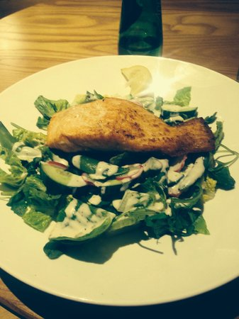 Cafe Rouge - Brindley Place: The best salmon ever