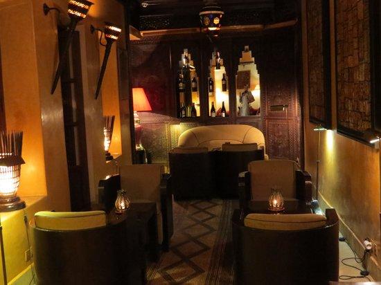 Restaurant of La Maison Arabe : intérieur
