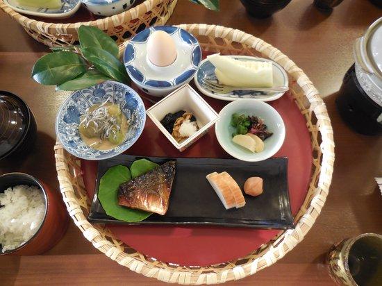 Shimanto no Yado: 朝食