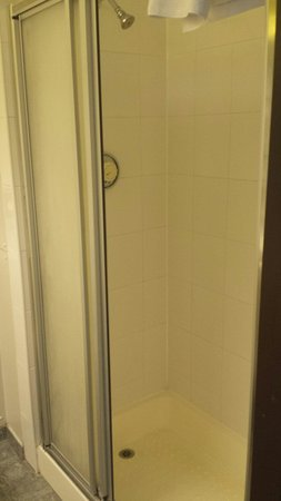 Dragonfly Hotel Bury St Edmunds: Dodgy looking shower...