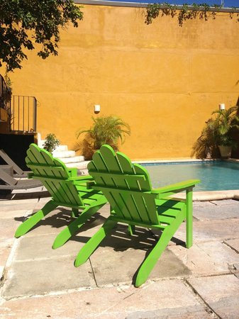 Luz En Yucatan : Pool, courtyard