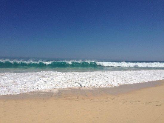 Hotel Riu Touareg : пляж