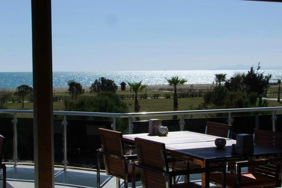 Simply Caddie Beach Restaurant: ''the sea wiew''