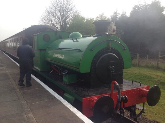 Lincolnshire Wolds Railway: Eaester gala 2014
