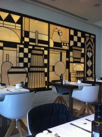 H10 Art Gallery : Salle des petits déjeuner