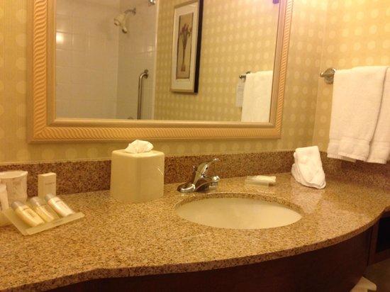 Hilton Garden Inn Sacramento/South Natomas : Bathroom vanity