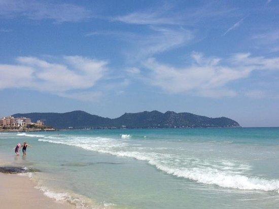 Hipotels Aparthotel Cala Millor Park: Beach