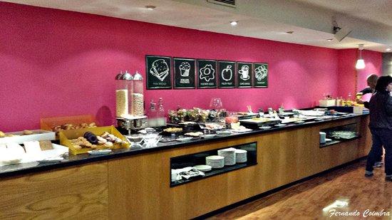 Tryp Jerez Hotel: Buffet del desayuno